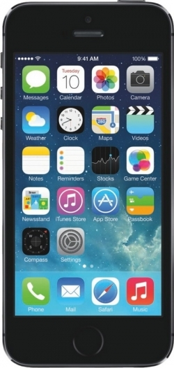 Смартфон  APPLE  iPhone 5S 16Gb space grey