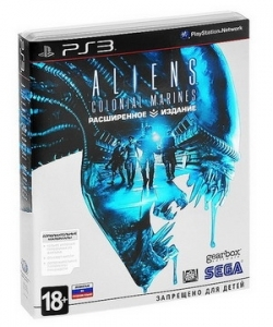 Игра  PC Aliens : Colonial Marines (Sony PS3)