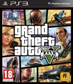 Игра  PS3 Grand Theft Auto V (Sony PS3)