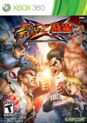 Игра  Xbox 360 Street Fighter X Tekken (Xbox 360)