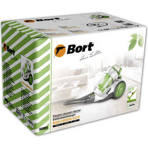 Фото №0 Пылесос Bort BSS-1800N-ECO Multicyclone Green+White