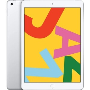 Планшет APPLE iPad (2019) Wi-Fi + Cellular 32GB Silver (MW6C2RU/A)