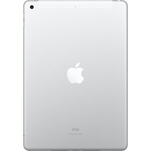 Фото №4 Планшет APPLE iPad (2019) Wi-Fi + Cellular 32GB Silver (MW6C2RU/A)