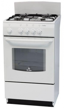 Плита газовая DE LUXE 5040.38г (щ) белая