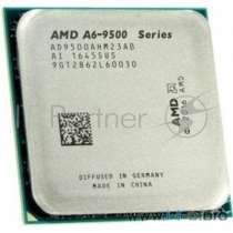 Процессор CPU AMD A6-9500 <AD9500AGM23AB> (AM4, 3.5GHz up to 3.8GHz/1Mb, 2C/2T, Bristol Ridge, 28nm, 65W, Radeon R5 Series)