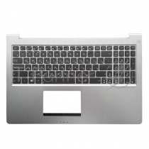 Ноутбук ASUS [UX52] с топкейсом [0KNB0-6624RU00] [13GNWO1AM032-1] [90R-NWO1K1L80Y], backlight, Silver