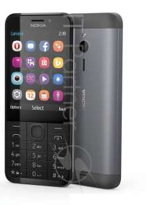 Смартфон NOKIA 230 DS A00026971 Black-Silver