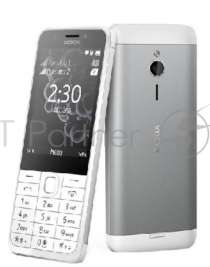 Смартфон NOKIA 230 DS A00026972 White-Silver