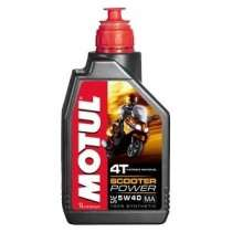 Моторное масло MOTUL Scooter Power 4T 5W-40 1 л