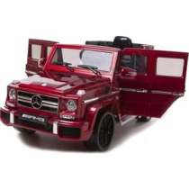 Детский электромобиль Harley Bella Mercedes Benz G63 LUXURY 2.4G - Red - HL168-LUX-RED