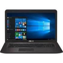 Ноутбук ASUS X756UQ-T4216T i3-6100U 2300MHz/6G/1T/17.3 FHD AG IPS/NV 940MX 2GB DDR5/DVD-SM/BT/Win10